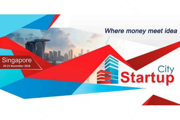 International startup conference in Singapore