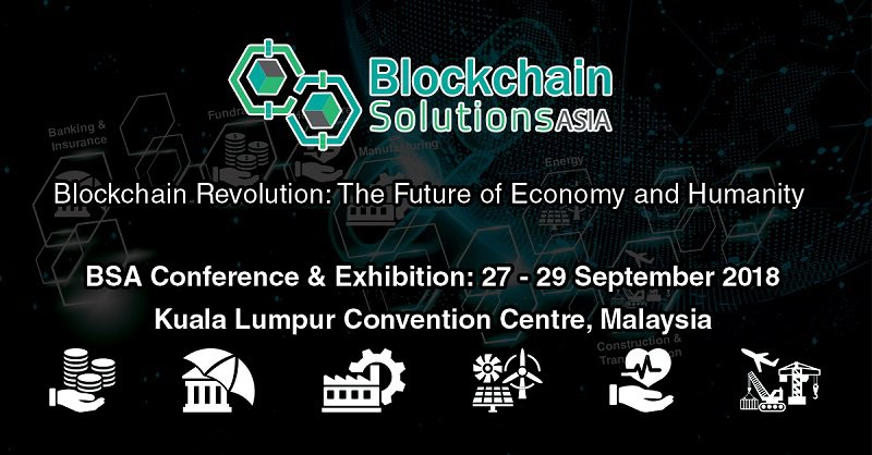 Adglink sponsored the Blockchain Solution Asia 2018